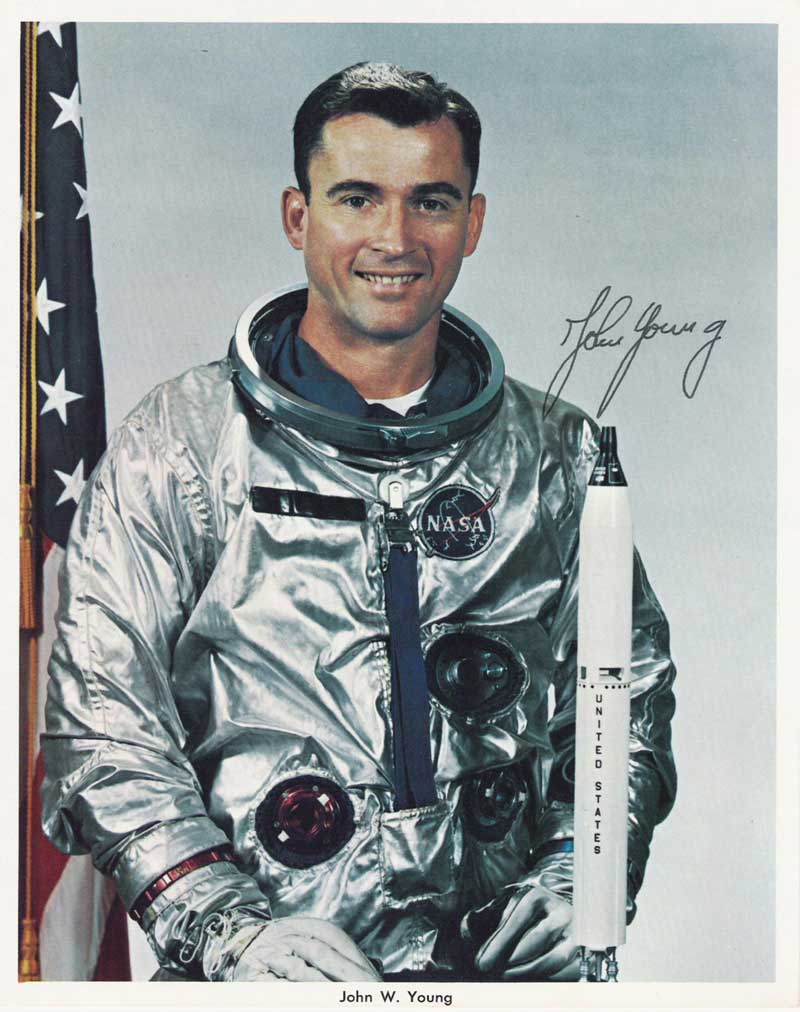 John Young Astronaut Autograph (page 2) - Pics about space