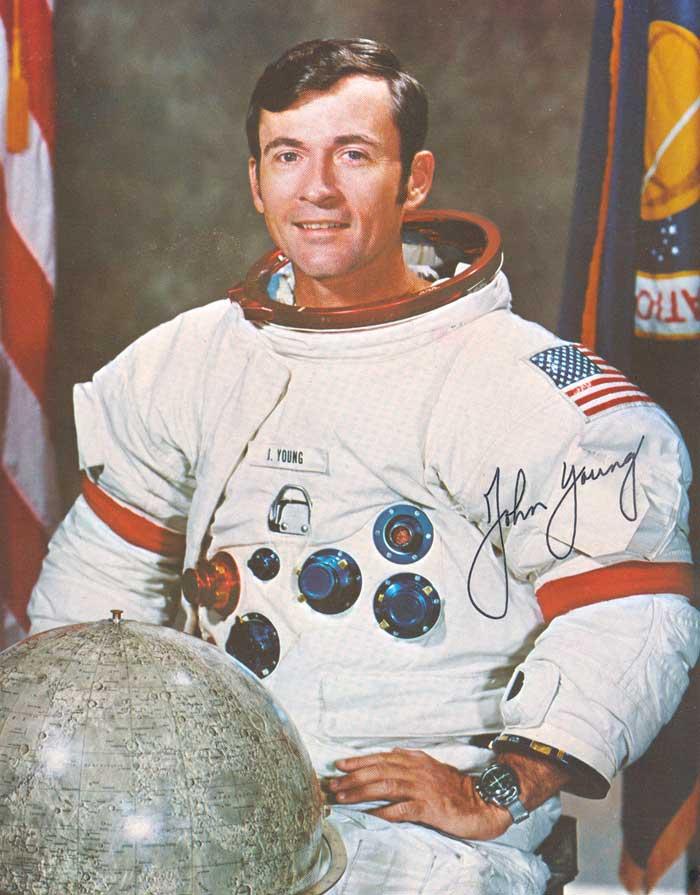 john young astronaut autograph - photo #1