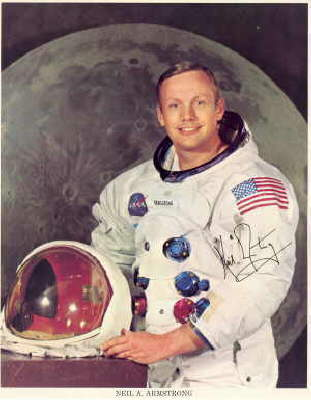 Neil Armstrong Autopen