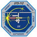 Image: STS-112 Crew Patch
